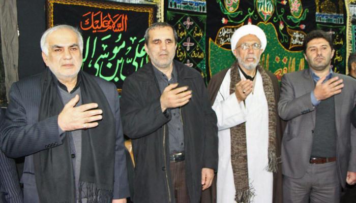 تصاویر تجمع هیئت های عزاداری مازندران در مشهد مقدس