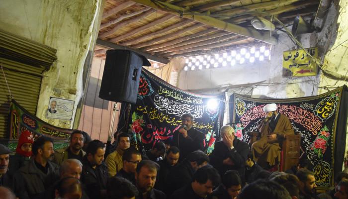 تصاویر مراسم سوگواری شهادت امام رضا(ع) در شهرضا اصفهان