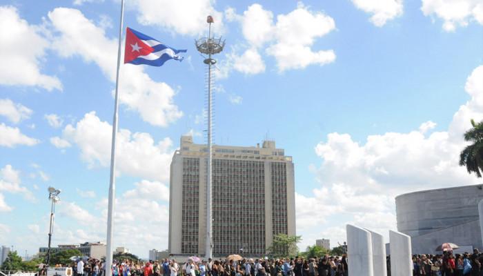 تصاویر مراسم یادبود فیدل کاسترو