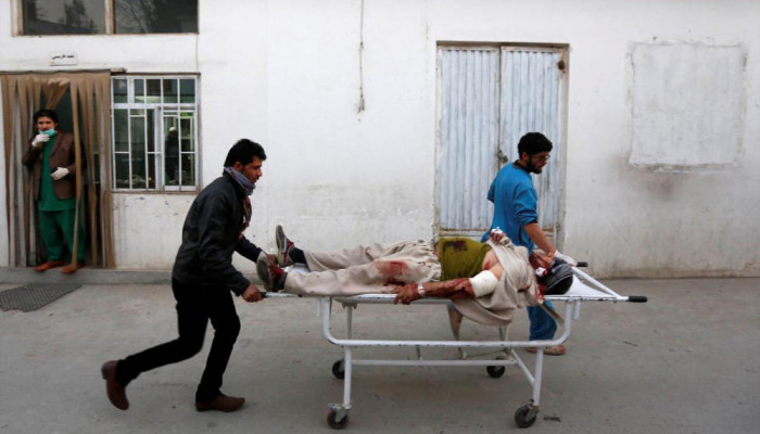 تصاویر حمله انتحاری طالبان در کابل