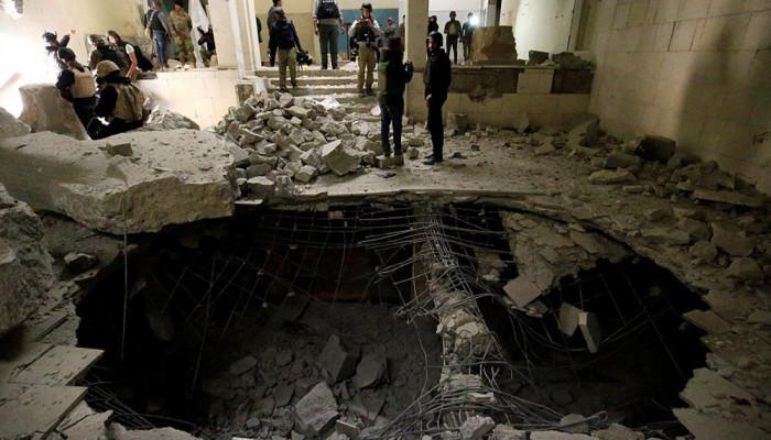 تصاویر پس گرفتن موزه موصل از دست داعش