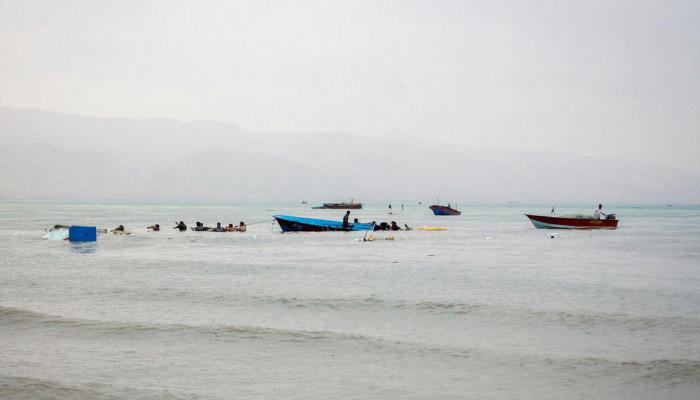 تصاویر طغیان دریا در جنوب استان بوشهر