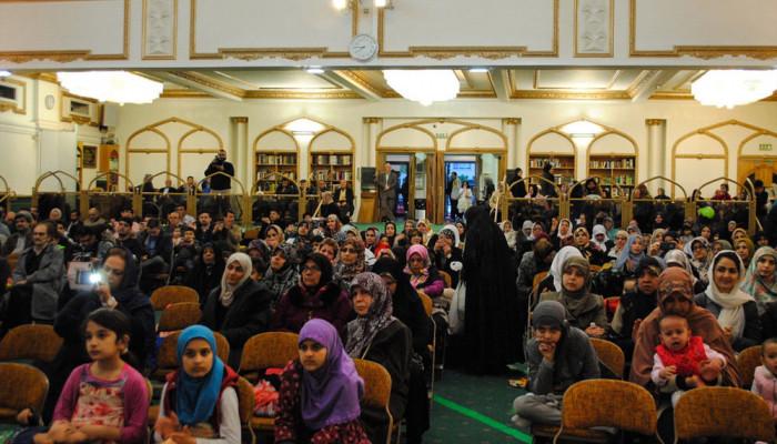 تصاویر مراسم میلاد مولود کعبه امیر مومنان علی(ع) در مرکز اسلامی انگلیسی