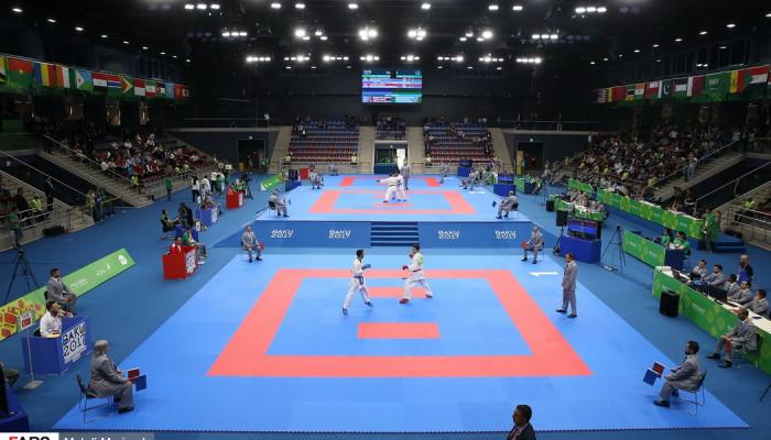 تصاویر مسابقات کاراته بازیهای کشورهای اسلامی2017 - باکو