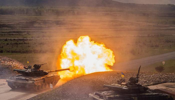 تصاویر رزمایش تانک های ناتو در آلمان