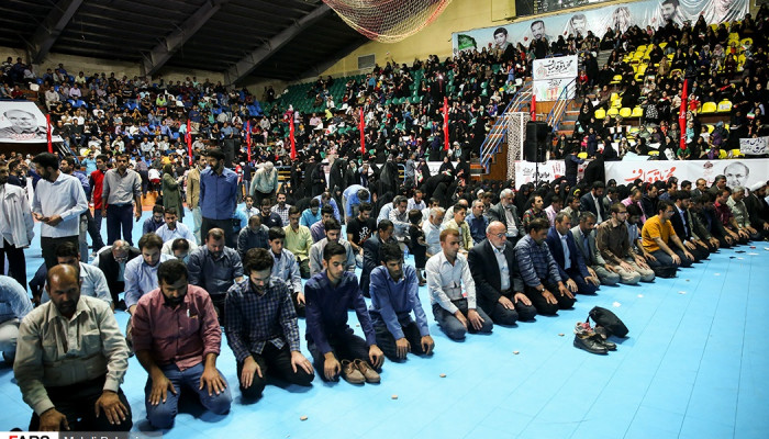 تصاویر سخنرانی محمدباقر قالیباف در جمع مردم اصفهان