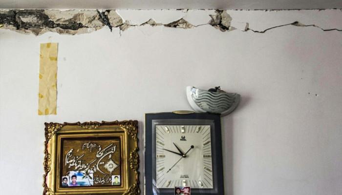 تصاویر شرایط سخت مردم روستاهای زلزله زده بجنورد  - ۲