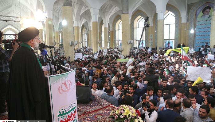 تصاویر سفر حجت الاسلام سید ابراهیم رئیسی به کرج