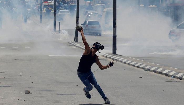 تصاویر تظاهرات روز نکبت در فلسطین