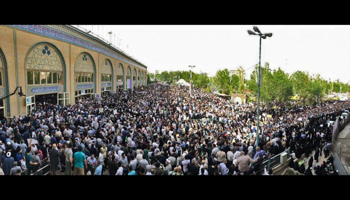 تصاویر گردهمایی حامیان حجت الاسلام سیدابراهیم رییسی - ۲