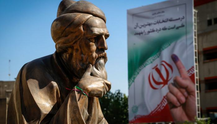 تصاویر آخرین ساعت های تبلیغات انتخابات ریاست جمهوری در سطح شهر تهران