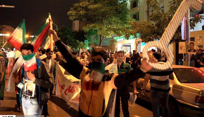 تصاویر آخرین ساعات تبلیغات ریاست جمهوری در خیابانهای مشهد
