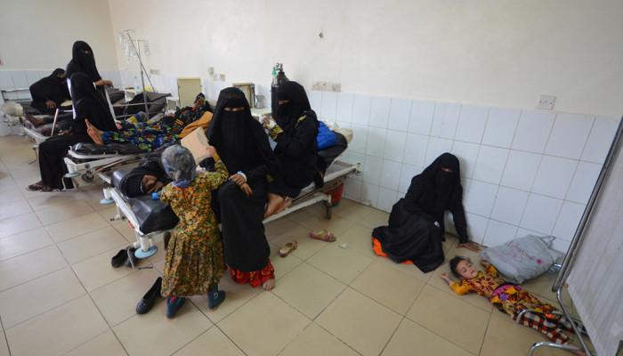 تصاویر وبا در یمن