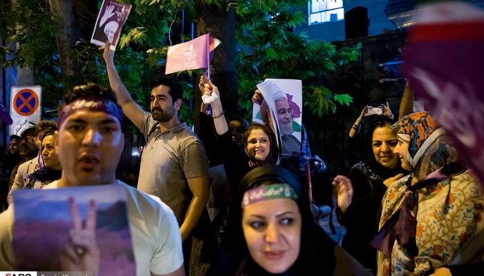 تصاویر آخرین ساعات تبلیغات انتخابات ریاست جمهوری در تهران-2