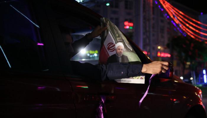 تصاویر ساعات پایانی تبلیغات انتخاباتی در تهران
