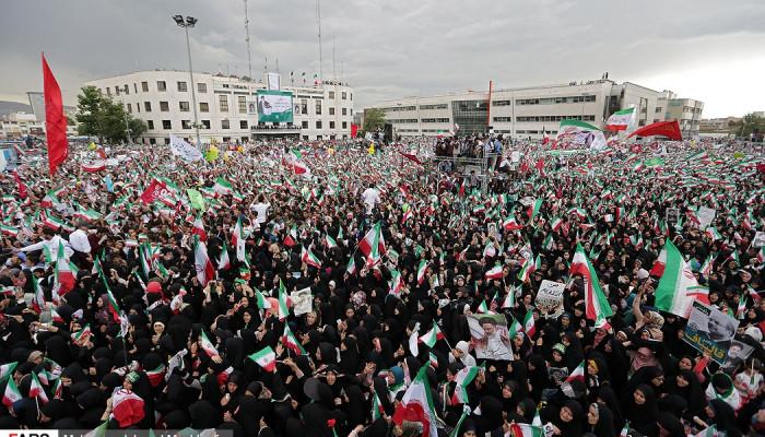 تصاویر همایش حامیان سید ابراهیم رئیسی در مشهد -3