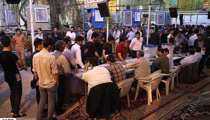 تصاویر آخرین ساعات انتخابات ریاست جمهوری و شورای شهر در تهران