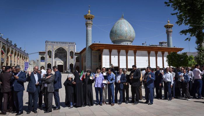 تصاویر انتخابات ریاست جمهوری و شورای اسلامی شهر و روستا در شیراز