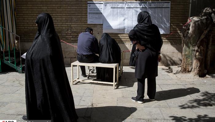 تصاویر انتخابات ریاست جمهوری و شورای شهرو روستا در تهران-5