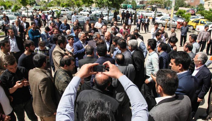 تصاویر انتخابات ریاست جمهوری و شورای اسلامی شهر و روستا در اردبیل