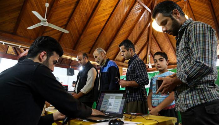 تصاویر انتخابات ریاست جمهوری و شورای اسلامی شهر و روستا در آمل