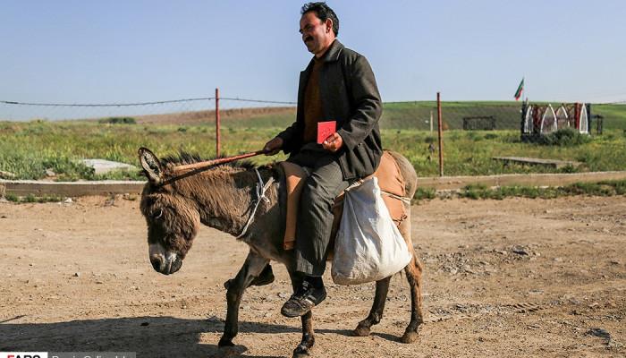 تصاویر انتخابات در روستاهای قشلاقی و عشایری اهر