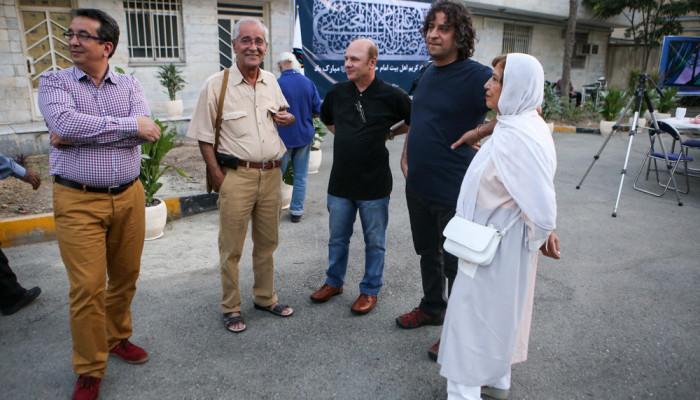 تصاویر افطاری انجمن عکاسان و هنرهای تجسمی انقلاب و دفاع مقدس