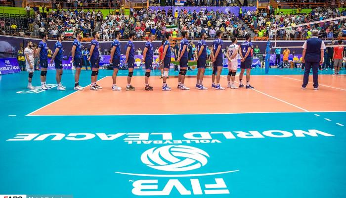 تصاویر لیگ جهانی والیبال  -  ایران ۱ -صربستان ۳