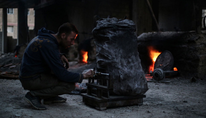 تصاویر کمبود سوخت در سوریه