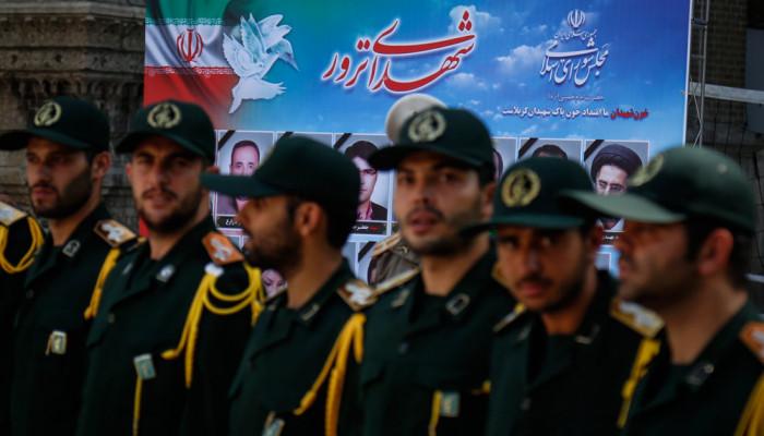 تصاویر مراسم ختم شهدای حادثه تروریستی تهران