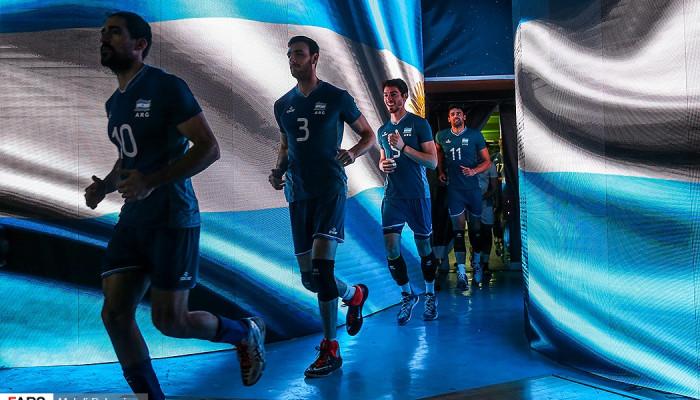 تصاویر لیگ جهانی والیبال  -  ایران - آرژانتین