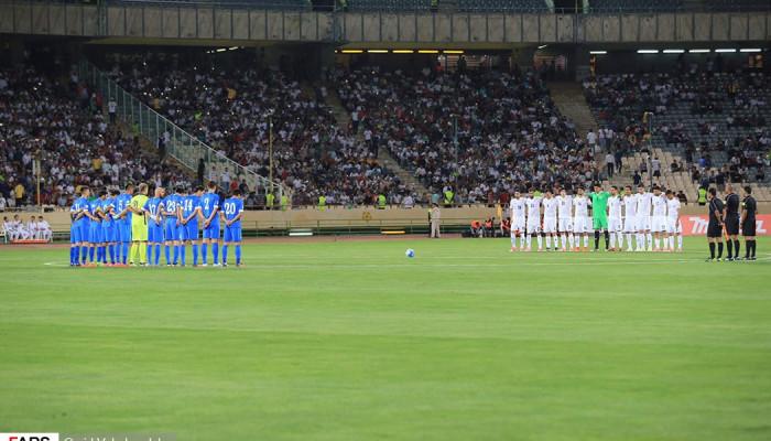 تصاویر ایران 1-0 ازبکستان