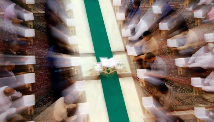 تصاویر محفل انس با قرآن در حسینیه ثارالله کرمان