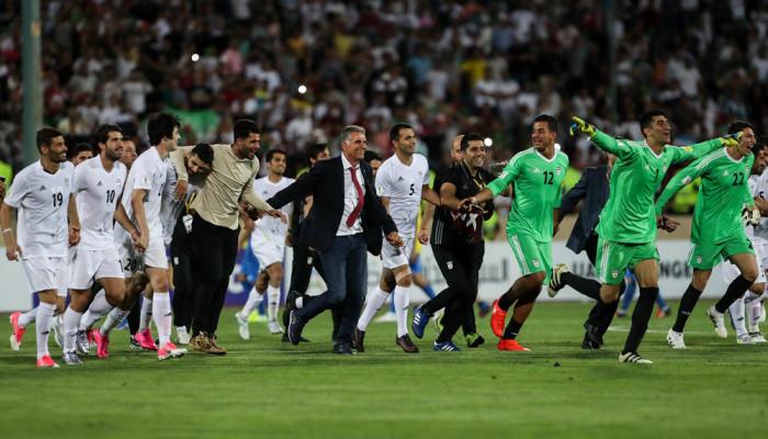 تصاویر صعود تیم ملی فوتبال ایران به جام جهانی ۲۰۱۸ روسیه