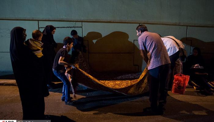 تصاویر احیای شب نوزدهم ماه رمضان در حسینیه همدانی ها