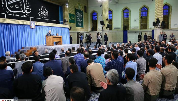 تصاویر مراسم سوگواری حضرت امیرالمؤمنین علیهالسلام در حسینیه امام خمینی