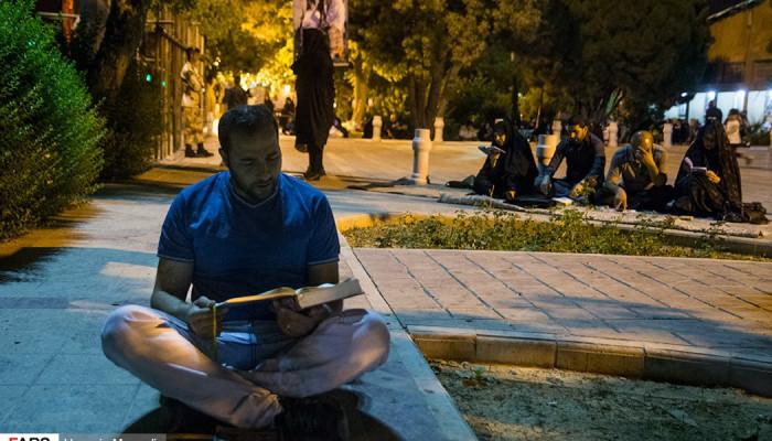 تصاویر احیای شب نوزدهم ماه رمضان در گلزار شهدا بهشت زهرا(س)
