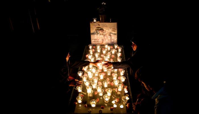 تصاویر مراسم احیای شب نوزدهم ماه رمضان در بهشت زهرا