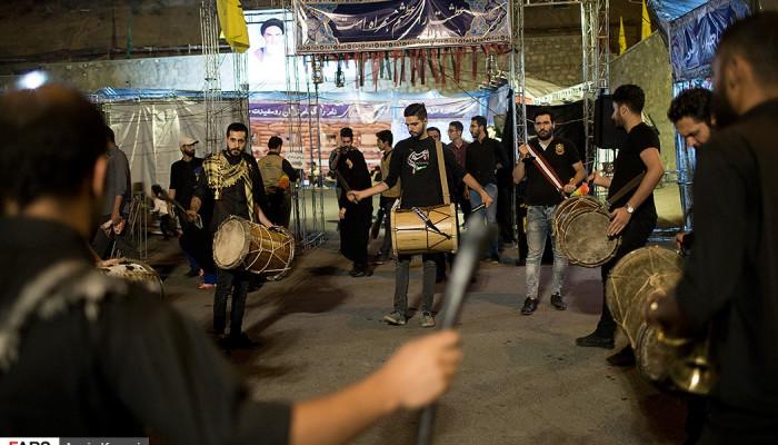 تصاویر احیای شب نوزدهم رمضان در کهف الشهدا