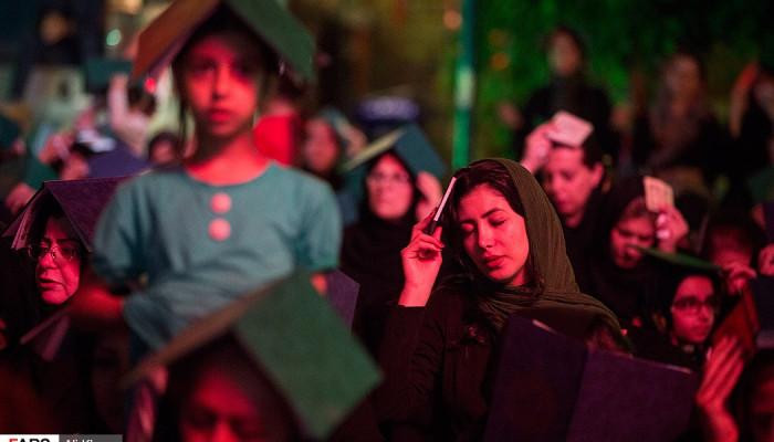 تصاویر احیای شب بیست و یکم ماه رمضان در پارک هنرمندان