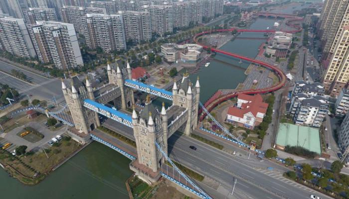 تصاویر معماری عجیب ساختمان های چینی