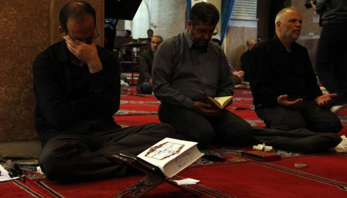 تصاویر مراسم احیای شب بیست و یکم ماه رمضان در ارومیه