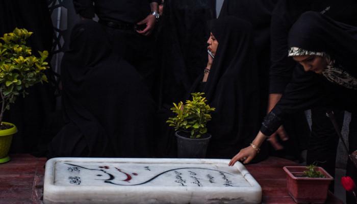 تصاویر اجتماع مدافعان حرم در میدان امام حسین (ع) تهران