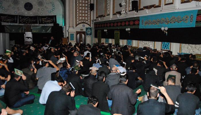 تصاویر عزاداری سالروز شهادت امیر مومنان علی (ع) در مرکز اسلامی انگلیس