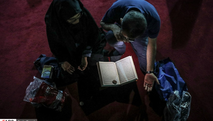 تصاویر احیای شب بیستویکم ماه مبارک رمضان در استانها -2