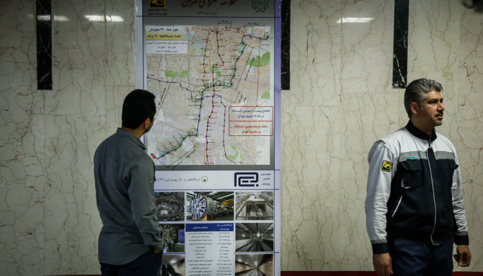 تصاویر افتتاح ایستگاه مترو شهید محلاتی