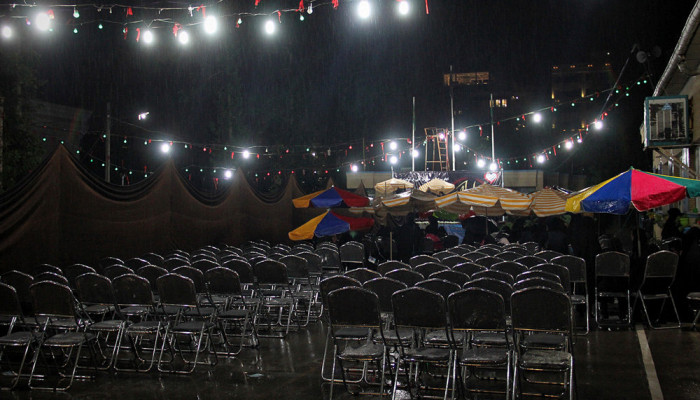 تصاویر مراسم احیای شب های قدر در آسایشگاه معلولین شهید بهشتی مشهد