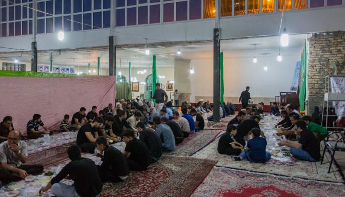 تصاویر مراسم احیای شب بیست و سوم ماه رمضان درآستان مقدس امامزاده یحیی(ع)