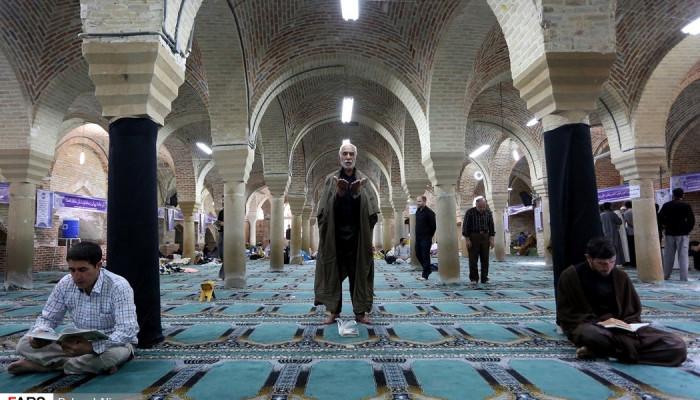 تصاویر اعتکاف رمضانیه در همدان