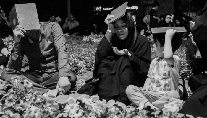 تصاویر مراسم احیای شب بیست و سوم ماه رمضان در گلزار شهدای گرگان